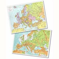 Cartina Geografica Europa Meridionale.Cartina Geografica Fisico Politica 29 7x42 America Meridionale Cartine Geografiche Plastificate Belletti Editore